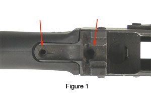 Buttstock Screw Positions