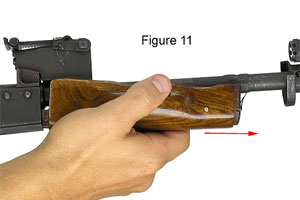 Removing Forend From Receiver