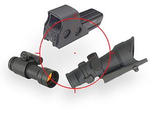 Red Dot Sights, Holographic Sights