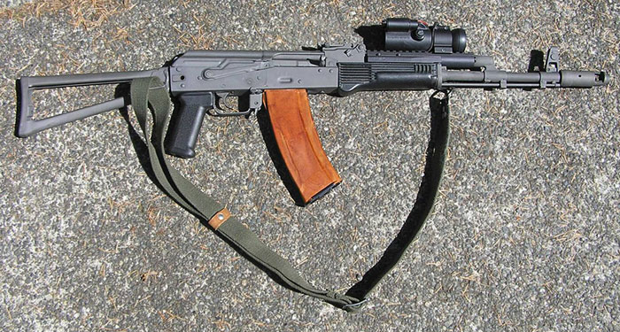 Custom AK-74 With Forward Optic Mount