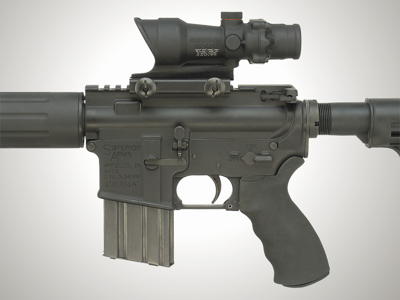 AR-15 Flat Top with TA01 Scope and TA51 Mount