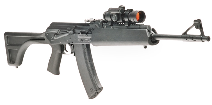Vepr II Optic Mount with Aimpoint Red Dot Sight