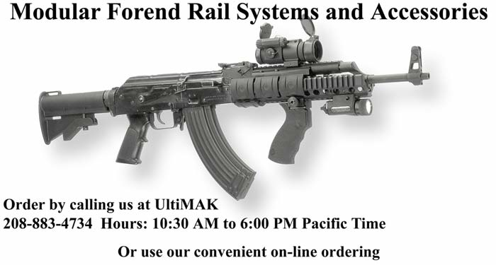AK-47 Modular Rail Forend with Accessories