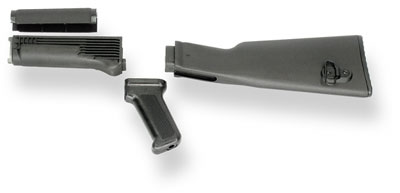 Four Piece Synthetic AK Stock for Milled Receiver