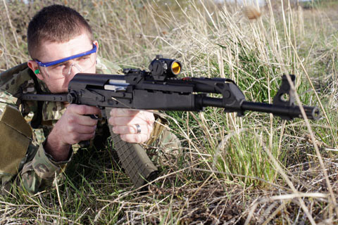 Reflex Sights Provide a Natural View of Target and Surroundings