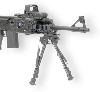 Rail Mounted Bipod on AK