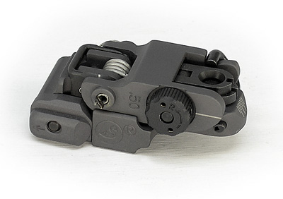 ARMS #40L-P Precision Rear Sight, Folded