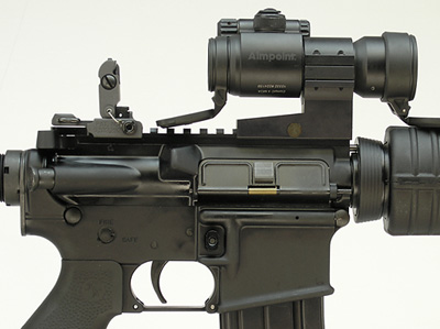 ARMS #40L-P with Aimpoint Comp Sight and QRP with Spacer