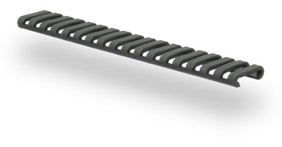 Low Profile Rail Covers - Black