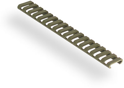 Low Profile Rail Covers - Olive Drab