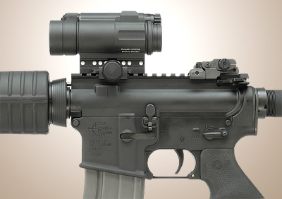 Aimpoint CompM4 with A.R.M.S.#40L-P